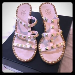 ASH Playa studded slide